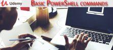 Udemy Basic PowerShell commands 222x100 - دانلود Udemy Basic PowerShell commands آموزش مقدماتی دستورات پاورشل