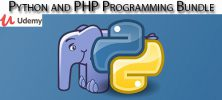 Udemy Python and PHP Programming Bundle 222x100 - دانلود Udemy Python and PHP Programming Bundle آموزش برنامه نویسی پایتون و پی اچ پی