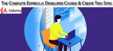 Udemy The Complete Express.js Developer Course Create Two Sites 222x100 - دانلود Udemy The Complete Express.js Developer Course & Create Two Sites آموزش کامل توسعه اکسپرس جی اس و ساخت دو سایت