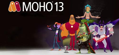 1 72 - دانلود Smith Micro Moho Pro 13.0.2.610 نرم افزار ساخت کارتون و انیمیشن