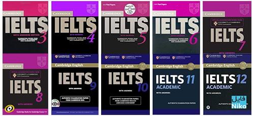 13 – 3 Cambridge IELTS - دانلود مجموعه کتاب های 13 – 3 Cambridge IELTS