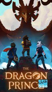 دانلود انیمیشن سریالی شاهزاده اژدها The Dragon Prince 2018 با دوبله فارسی انیمیشن مالتی مدیا