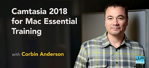 Lynda Camtasia 2018 for Mac Essential Training - دانلود Lynda Camtasia 2018 for Mac Essential Training آموزش کمتاسیا 2018 برای مک