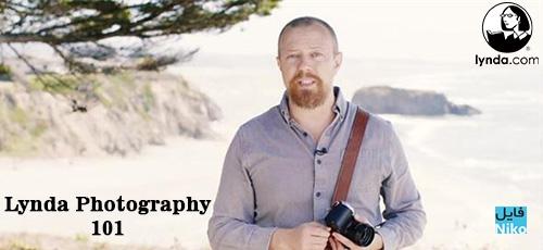 Lynda Photography 101 - دانلود Lynda Photography 101 آموزش کامل عکاسی