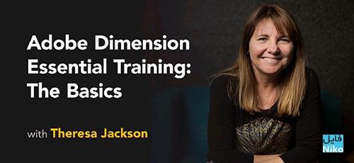 Lynda Adobe Dimension Essential Training The Basics - دانلود Lynda Adobe Dimension Essential Training: The Basics آموزش مقدماتی ادوبی دایمنشن