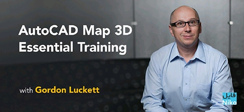 Lynda AutoCAD Map 3D Essential Training 2018 - دانلود Lynda AutoCAD Map 3D Essential Training 2018 آموزش نرم افزار اتوکد مپ 2018