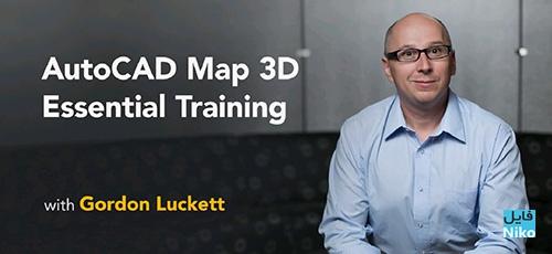 Lynda AutoCAD Map 3D Essential Training 2018 - دانلود Lynda AutoCAD Map 3D Essential Training 2018 آموزش نرم افزار اتوکد مپ 2018