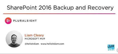 Pluralsight SharePoint 2016 Backup and Recovery - دانلود Pluralsight SharePoint 2016 Backup and Recovery آموزش پشتیبان گیری و بازیابی شیرپوینت 2016