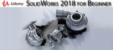 Udemy SolidWorks 2018 for Beginner 222x100 - دانلود Udemy SolidWorks 2018 for Beginner آموزش مقدماتی سالیدورکس 2018