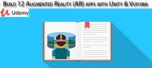 Udemy Build 12 Augmented Reality AR apps with Unity Vuforia 222x100 - دانلود Udemy Build 12 Augmented Reality (AR) apps with Unity & Vuforia آموزش ساخت 12 برنامه واقعیت افزوده با یونیتی و وفوریا
