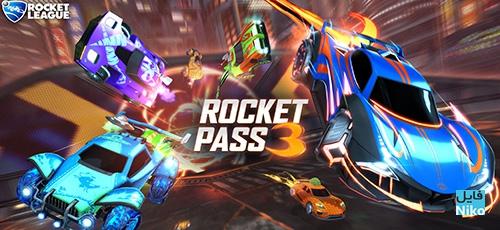 1 135 - دانلود بازی Rocket League – Rocket Pass 3 برای PC