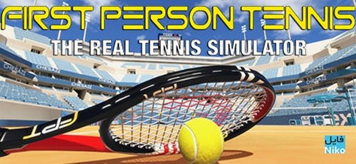 1 152 - دانلود بازی First Person Tennis The Real Tennis Simulator برای PC