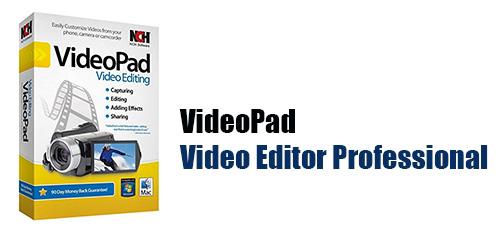 1 195 - دانلود VideoPad Video Editor Professional 8.96 نرم افزار ویرایش فیلم و کلیپ