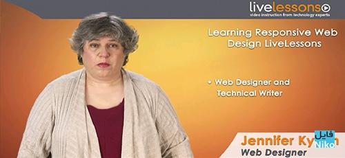 Learning Responsive Web Design Complete Video Course - دانلود Learning Responsive Web Design - Complete Video Course آموزش کامل طراحی وب سایت های واکنش گرا