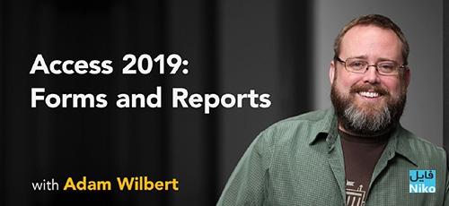 Lynda Access 2019 Forms and Reports - دانلود Lynda Access 2019: Forms and Reports آموزش فرم ها و گزارش ها در اکسس 2019