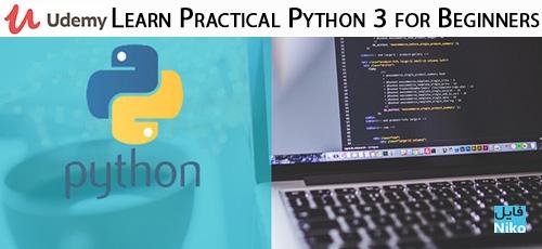 Udemy Learn Practical Python 3 for Beginners - دانلود Udemy Learn Practical Python 3 for Beginners آموزش مقدماتی عملی پایتون 3