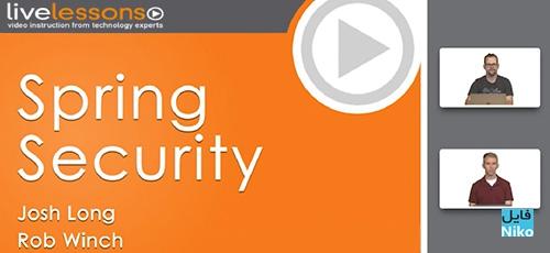 Livelessons Spring Security - دانلود Livelessons Spring Security آموزش مباحث امنیت در اسپرینگ