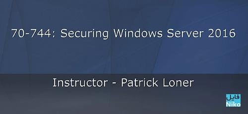 OReilly Microsoft 70 744 Securing Windows Server 2016 Tutorial - دانلود O'Reilly Microsoft 70 - 744 Securing Windows Server 2016 Tutorial آموزش دوره 744 - 70 امنیت ویندوز سرور 2016