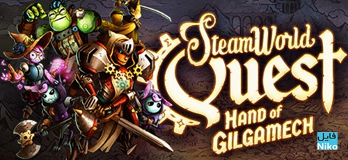 1 44 -  دانلود بازی SteamWorld Quest Hand of Gilgamech برای PC