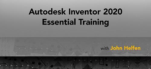 Lynda Autodesk Inventor 2020 Essential Training - دانلود Lynda Autodesk Inventor 2020 Essential Training آموزش نرم افزار اتودسک اینونتور 2020
