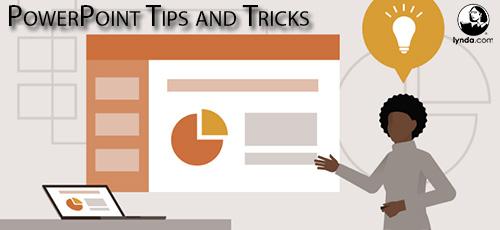 Lynda PowerPoint Tips and Tricks - دانلود Lynda PowerPoint Tips and Tricks آموزش نکته ها و نرفندهای پاورپوینت 360
