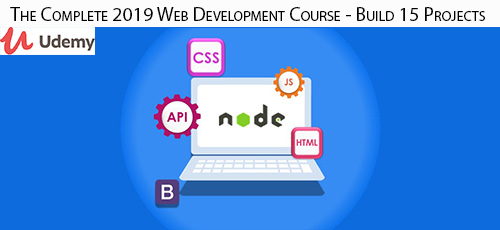 Udemy The Complete 2019 Web Development Course Build 15 Projects - دانلود Udemy The Complete 2019 Web Development Course - Build 15 Projects آموزش کامل توسعه وب 2019 همراه با 15 پروژه