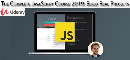 Udemy The Complete JavaScript Course 2019 Build Real Projects - دانلود Udemy The Complete JavaScript Course 2019: Build Real Projects آموزش کامل جاوا اسکریپت 2019 همراه با ساخت پروژه