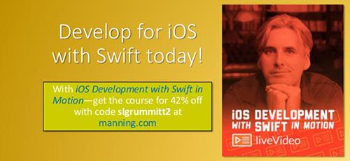 iOS Development with Swift in Motion - دانلود iOS Development with Swift in Motion آموزش توسعه ای او اس با سوئیفت