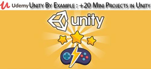 1 98 - دانلود Udemy Unity By Example : 20+ Mini Projects in Unity آموزش ساخت 20 پروژه کوچک با یونیتی
