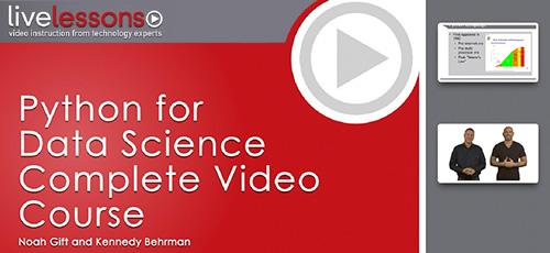 3 54 - دانلود Livelessons Python for Data Science Complete Video Course Video Training آموزش کامل پایتون برای علوم داده