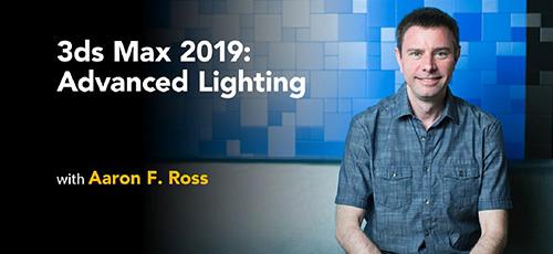 3ds Max 2019 Advanced Lighting - دانلود 3ds Max 2019: Advanced Lighting نورپردازی پیشرفته در 3ds مکس