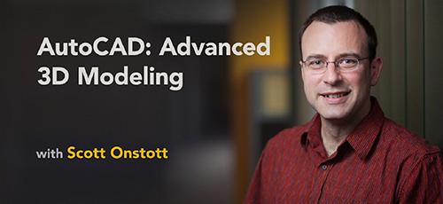 Linkedin AutoCAD Advanced 3D Modeling - دانلود Linkedin AutoCAD Advanced 3D Modeling اتوکد مدل سازی پیشرفته سه بعدی