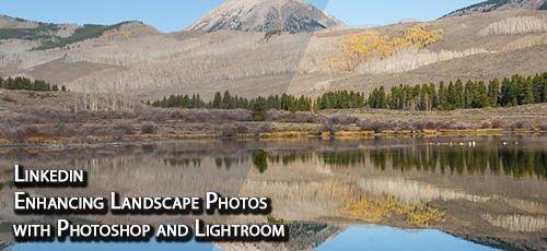 Linkedin Enhancing Landscape Photos with Photoshop and Lightroom - دانلود Linkedin Enhancing Landscape Photos with Photoshop and Lightroom لایه های تنظیم، حالت های ترکیبی و ماسک ها در فتوشاپ و لایت روم