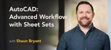 Lynda AutoCAD Advanced Workflow with Sheet Sets 222x100 - دانلود Lynda AutoCAD Advanced Workflow with Sheet Sets آموزش کار با Sheet Sets در اتوکد