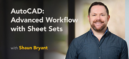 Lynda AutoCAD Advanced Workflow with Sheet Sets - دانلود Lynda AutoCAD Advanced Workflow with Sheet Sets آموزش کار با Sheet Sets در اتوکد