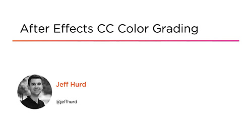 Pluralsight After Effects CC Color Grading - دانلود Pluralsight After Effects CC Color Grading درجه بندی رنگ در افتر افکت