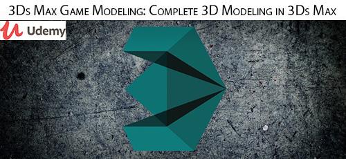 Udemy 3Ds Max Game ModelingComplete 3D Modeling in 3Ds Max - دانلود Udemy 3Ds Max Game Modeling: Complete 3D Modeling in 3Ds Max آموزش مدلسازی سه بعدی بازی در تری دی اس مکس