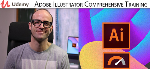 Udemy Adobe Illustrator Comprehensive Training - دانلود Udemy Adobe Illustrator Comprehensive Training آموزش همه جانبه ادوبی ایلاستریتور
