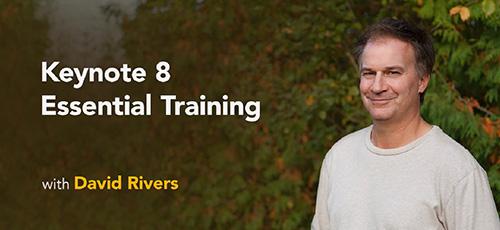 آموزش نرم افزار کینوت 8 - دانلود Lynda Keynote 8 Essential Training آموزش نرم افزار کینوت 8