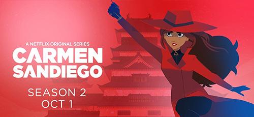 1 2 - دانلود انیمیشن Carmen Sandiego 2019 فصل دوم با زیرنویس فارسی