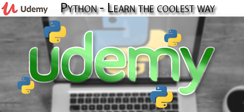 Udemy Python Learn the coolest way - دانلود Udemy Python - Learn the coolest way آموزش سریع و راحت پایتون