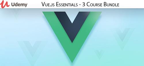 Udemy Vue.js Essentials 3 Course Bundle - دانلود Udemy Vue.js Essentials - 3 Course Bundle آموزش کامل ویو جی اس