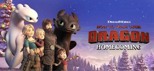 2 62 - دانلود انیمیشن How to Train Your Dragon Homecoming 2019 با دوبله فارسی