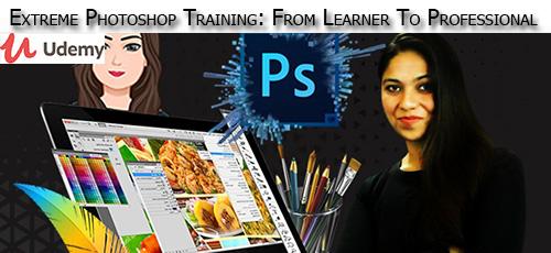 5 41 - دانلود Udemy Extreme Photoshop Training: From Learner To Professional آموزش کامل مقدماتی تا پیشرفته فتوشاپ