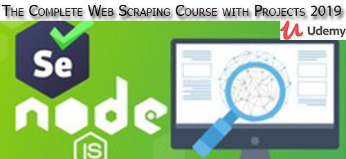 6 41 - دانلود Udemy The Complete Web Scraping Course with Projects 2019 آموزش کامل خراش دادن وب همراه با پروژه