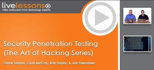 5 39 - دانلود Livelessons The Art of Hacking (Video Collection) آموزش دوره های هنر هک کردن