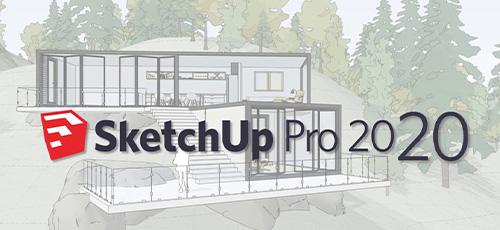 1 157 - دانلود SketchUp Pro 2020 v20.1.229 + V-ray 4.20.02 طراحی 3 بعدی