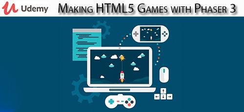 1 2 - دانلود Udemy Making HTML5 Games with Phaser 3 آموزش ساخت بازی های اچ تی ام ال 5 با فیزر 3
