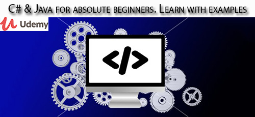 1 24 - دانلود Udemy C# & Java for absolute beginners. Learn with examples آموزش مقدماتی سی شارپ و جاوا همراه با مثال