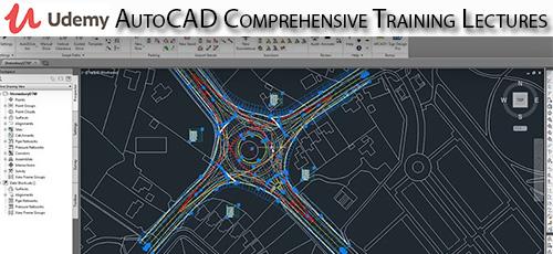 1 4 - دانلود Udemy AutoCAD Comprehensive Training Lectures آموزش همه جانبه اتوکد